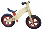 "REDTOYS Laufrad ohne Bremse mit Luftreifen ""Natural Wood"" Made in Germany"